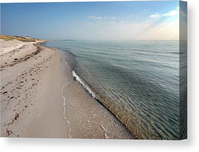 Beach Canvas Print featuring the photograph Humble Beach by Robert Lacy