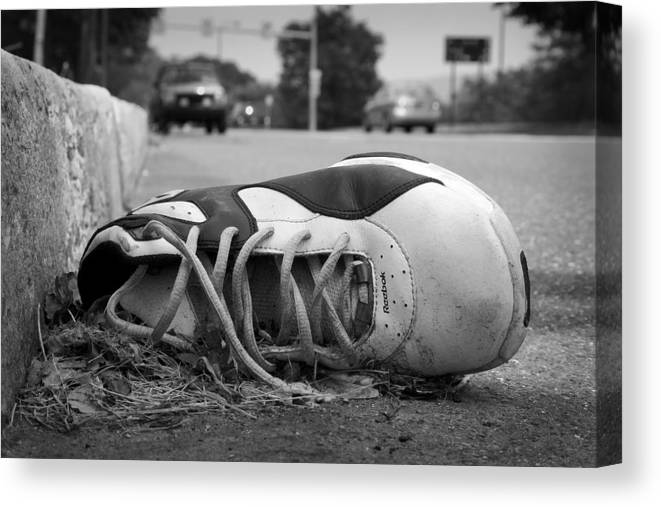 Shoes Canvas Print featuring the photograph Ignored by Kevin Brett