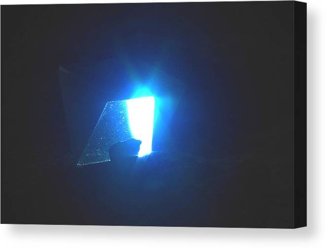 Prism Canvas Print featuring the photograph Indigo by Steven Wirth