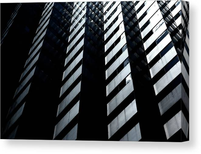 Architecture Canvas Print featuring the photograph Into Light by Eric Christopher Jackson