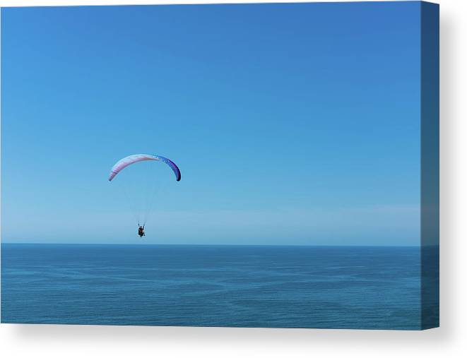 La Jolla Canvas Print featuring the photograph Into The Blue by Joseph Smith