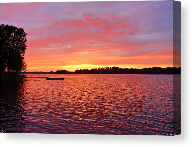 It's A New Day Canvas Print featuring the photograph It's A New Day by Lisa Wooten