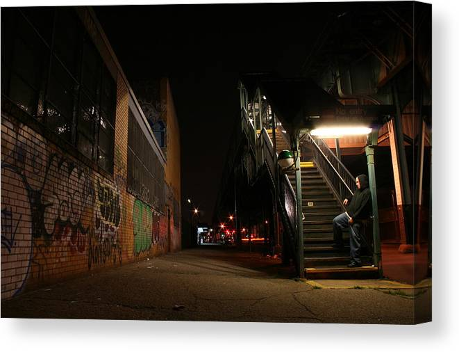 Jayhoc Canvas Print featuring the photograph Jayhoc Waits by Jason Hochman