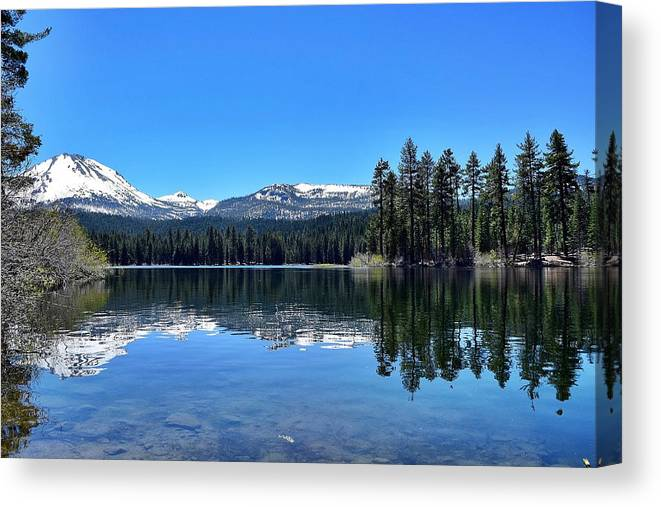 Lassen Volcanic National Park Canvas Print featuring the photograph Lassen Volcanic National Park by Sagittarius Viking