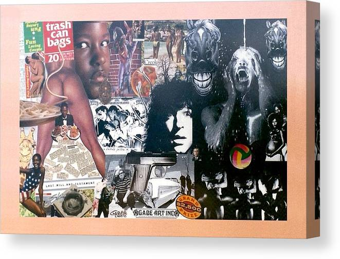 Last Will Canvas Print featuring the photograph Last Will And Testament Number One by Gabe Art Inc