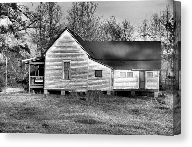 Architectural Canvas Print featuring the photograph Left For Dead by Jan Amiss Photography