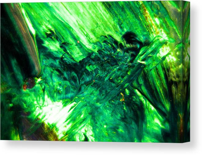Paint Canvas Print featuring the photograph Like Ink Spots by Jeff Swan