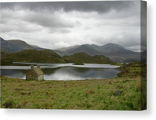 Loch Canvas Print featuring the photograph Loch Stack by Mike Bambridge