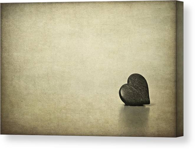 Heart Canvas Print featuring the photograph Longing by Evelina Kremsdorf