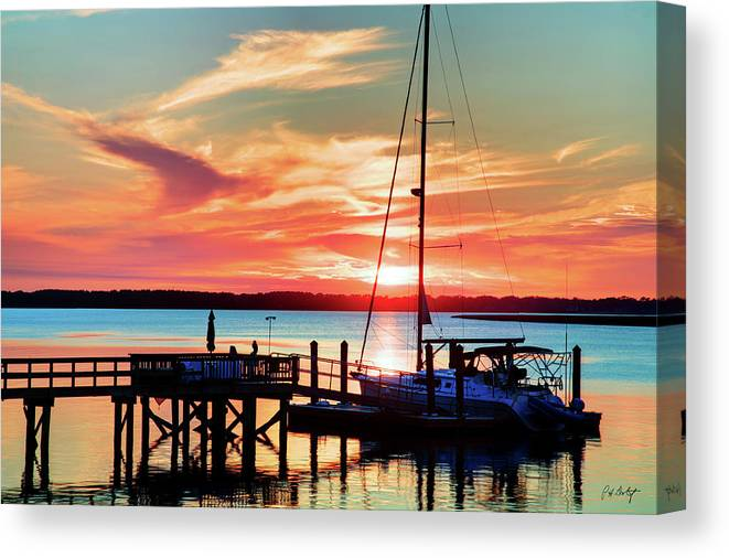 Boating Canvas Print featuring the photograph Lowcountry Leisure by Phill Doherty