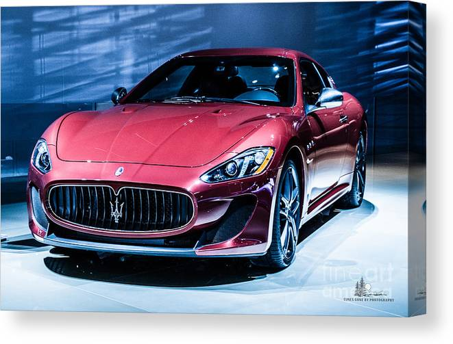 Auto Canvas Print featuring the photograph Maserati by Ronald Grogan