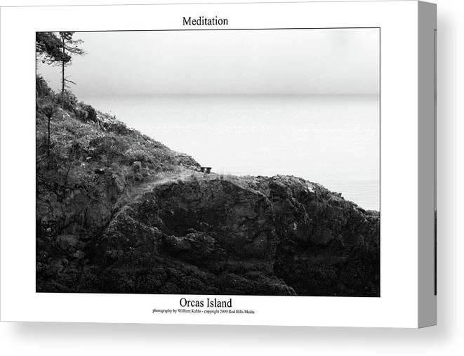 San Juan Photographs Canvas Print featuring the photograph Meditation by William Jones