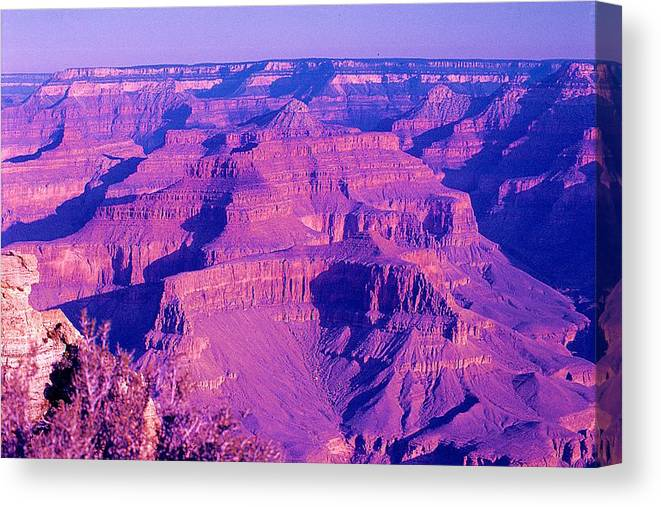 Grand Canyon Canvas Print featuring the photograph Miracle Of Nature 3 by Ingrid Stiehler
