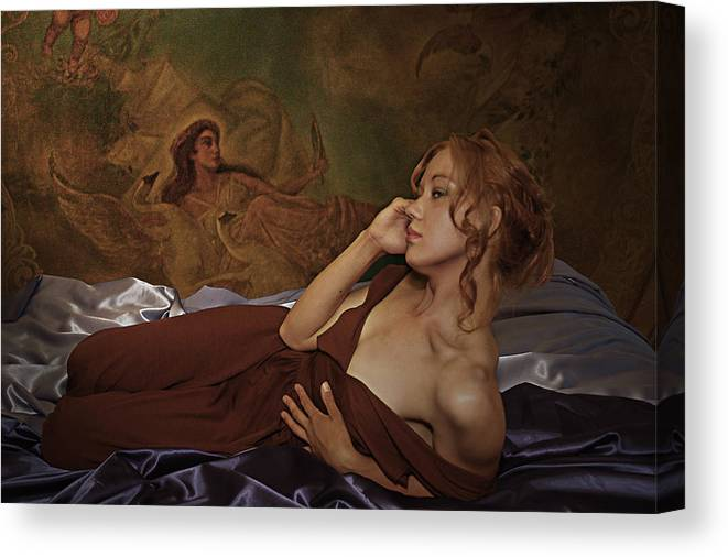Narcissism Canvas Print featuring the photograph Narcissis by Jeff Burgess