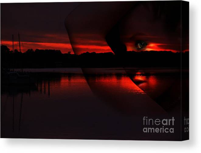 Clay Canvas Print featuring the photograph Nautical Goddess by Clayton Bruster