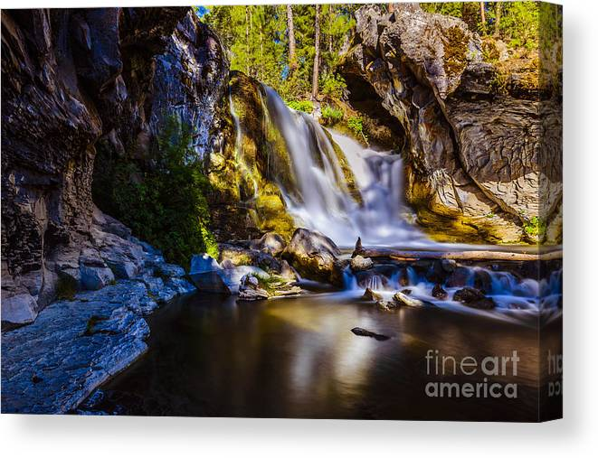 Waterfalls Canvas Print featuring the photograph Newberry Country by Adam Reisman