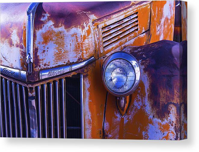 Truck Canvas Print featuring the photograph Old Ford Pickup by Garry Gay