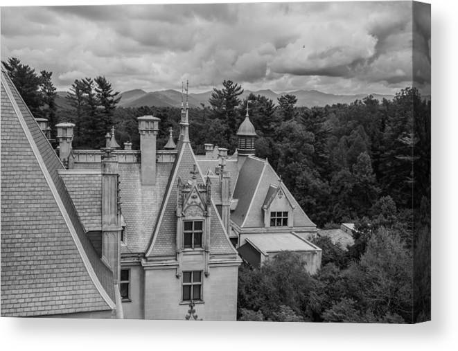 Clouds Canvas Print featuring the photograph Overcast by Jonathan Hopper
