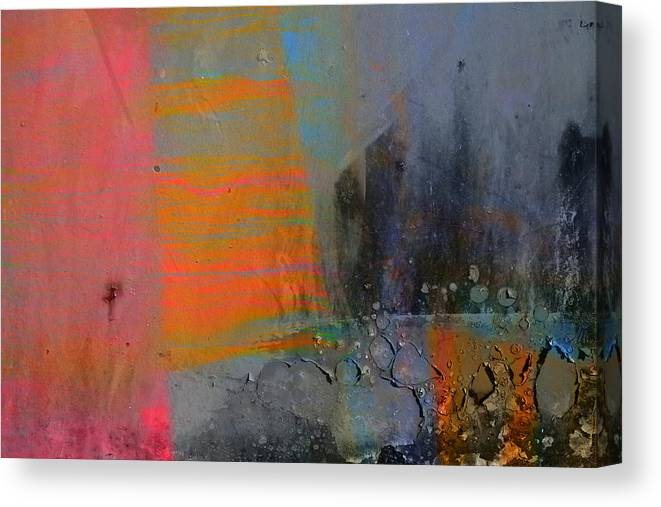 Paint Canvas Print featuring the photograph Peeling Paint by Martine Affre Eisenlohr