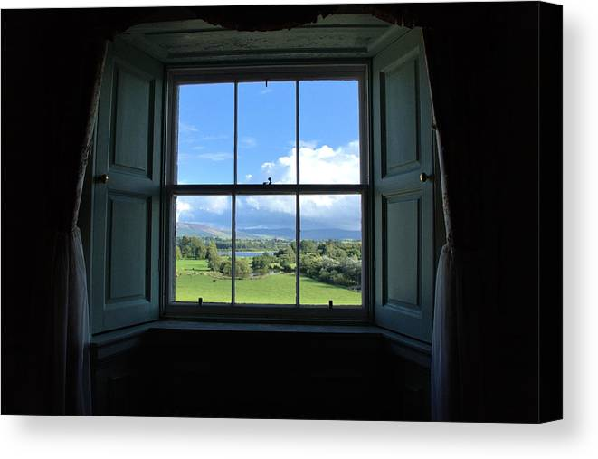 Windows Canvas Print featuring the photograph Picture Perfect by Michelle Joseph-Long