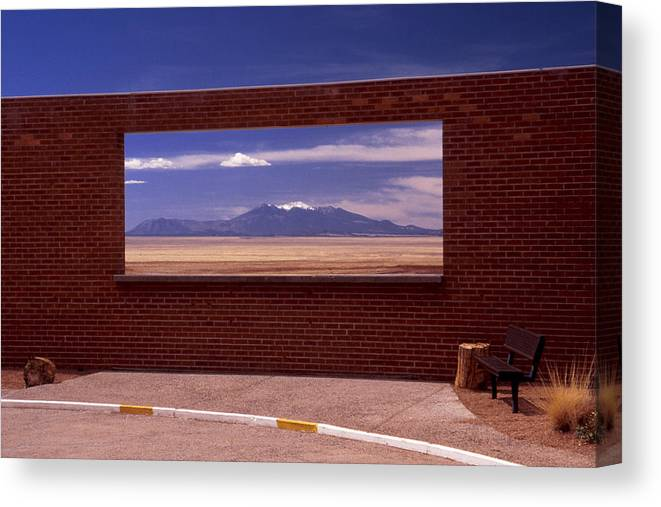 Window Canvas Print featuring the photograph Picture Window by Karen Ulvestad