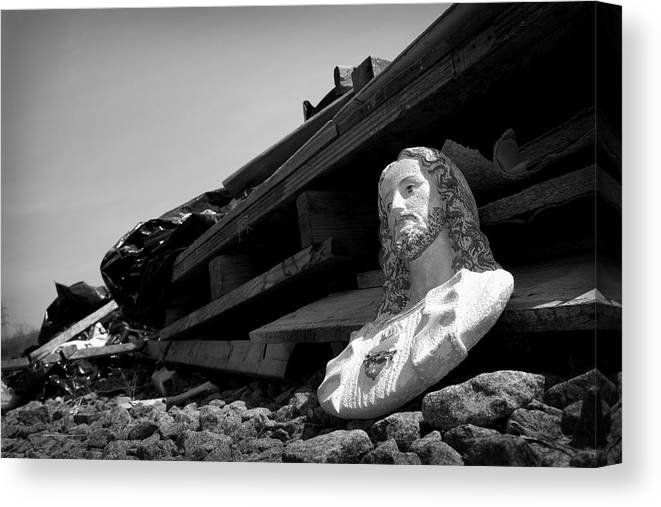 Abandoned Canvas Print featuring the photograph Pose by Kevin Brett