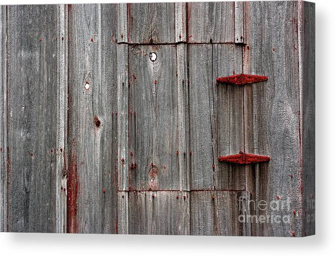 Abandoned Canvas Print featuring the photograph Rusted Shut by Alan Look