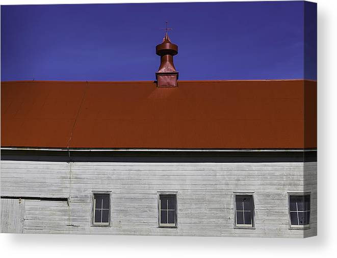 Shaker Canvas Print featuring the photograph Shaker Building by Garry Gay