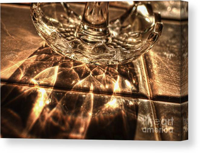 Shimmer Canvas Print featuring the photograph Shimmer by Chris Fleming