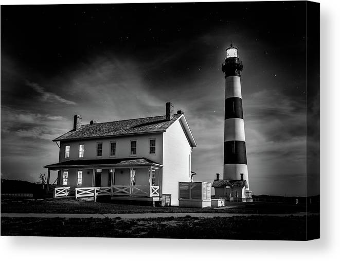 Sky Canvas Print featuring the photograph Silent Watch by Joshua Berman