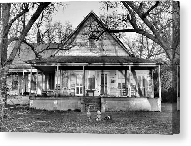 Architectural Canvas Print featuring the photograph Southern Comfort by Jan Amiss Photography