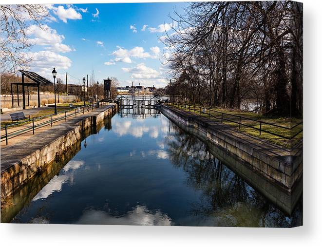 River Canvas Print featuring the photograph Spring Is At The Gates by Roger Walk