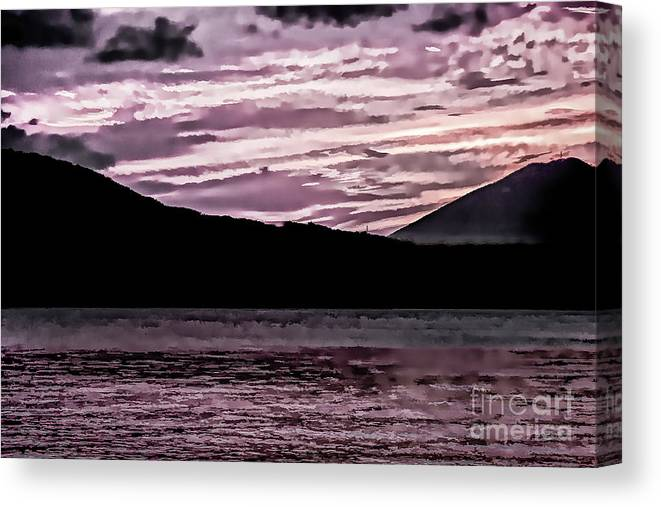 St Thomas Canvas Print featuring the photograph St Thomas - Sunset 2 by Stefan H Unger