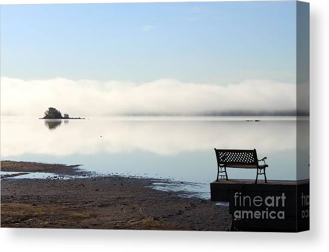 Serenity Canvas Print featuring the photograph Starting Over by Cathy Beharriell