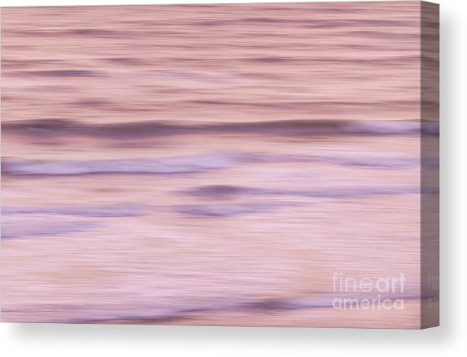 Ocean Canvas Print featuring the photograph Sunrise Waves 2 by Elena Elisseeva