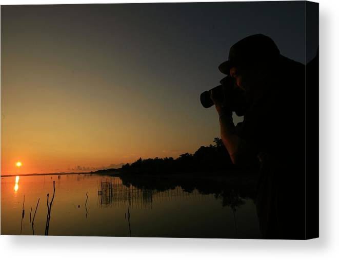 Sunrise Canvas Print featuring the photograph Take Sunrise by Yuli Seperi