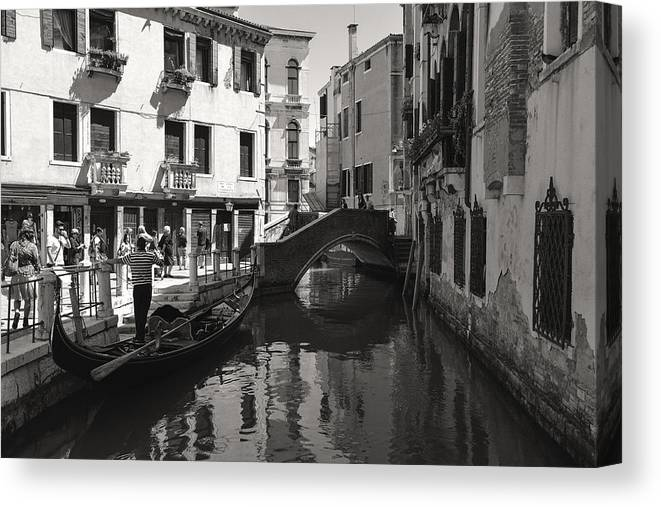 Colour Canvas Print featuring the photograph Taste Of Italy by Michael Ritz