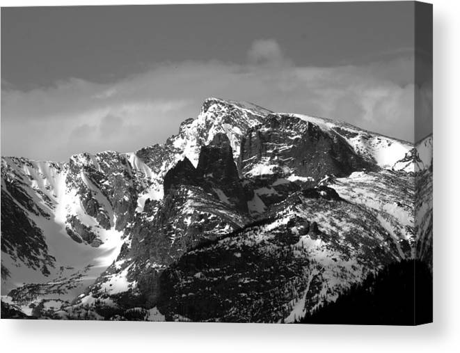 Canvas Print featuring the photograph Taylor Peak by Perspective Imagery