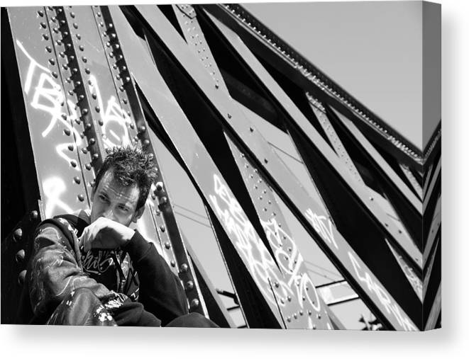 Photographer Canvas Print featuring the photograph Tearful 2 by Jez C Self