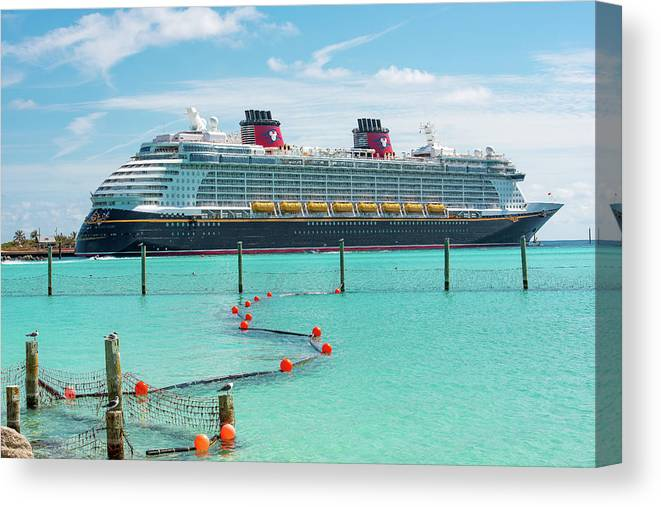 The Disney Dream At Castaway Cay Disney Dcl Disneydream Canvas Print