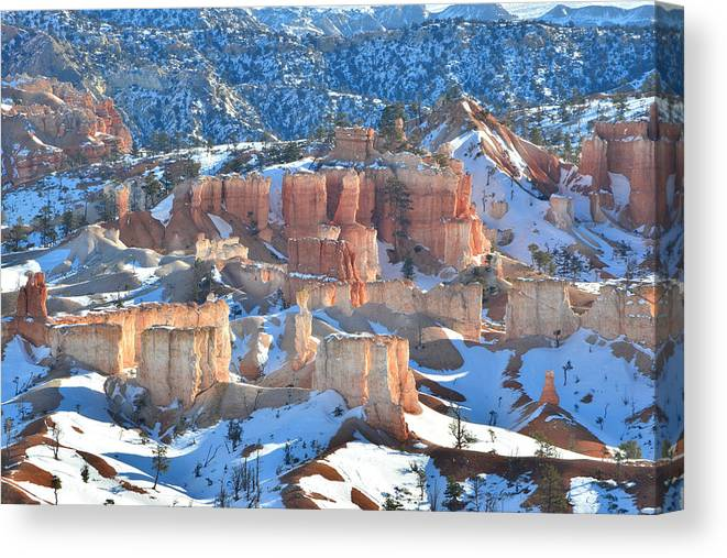 Bryce Canyon National Park Canvas Print featuring the photograph The Garden by Ray Mathis