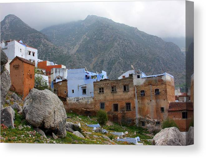 Chefchaouen Canvas Print featuring the photograph The Hamptons Of Morocco by Jason Hochman