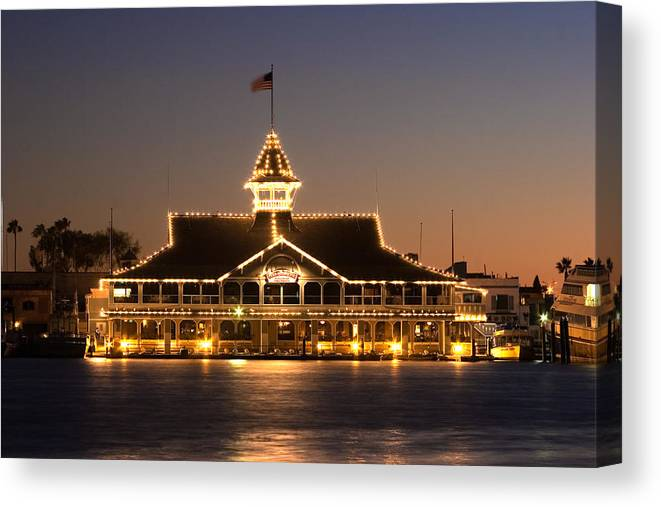 Pavilion Canvas Print featuring the photograph The Pavilion by Charlie Hunt