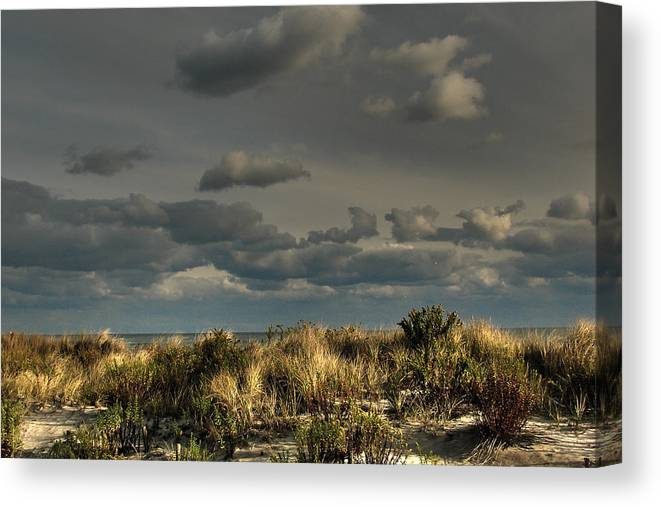 Ufo Canvas Print featuring the photograph Ufo Inadvertent by Kevin Sherf