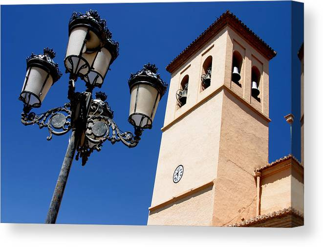 Photographer Canvas Print featuring the photograph Ugijar Church 6 by Jez C Self