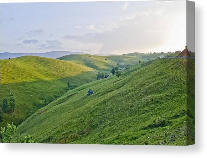 Landscape Canvas Print featuring the photograph Valari 2 by Adrian Bud