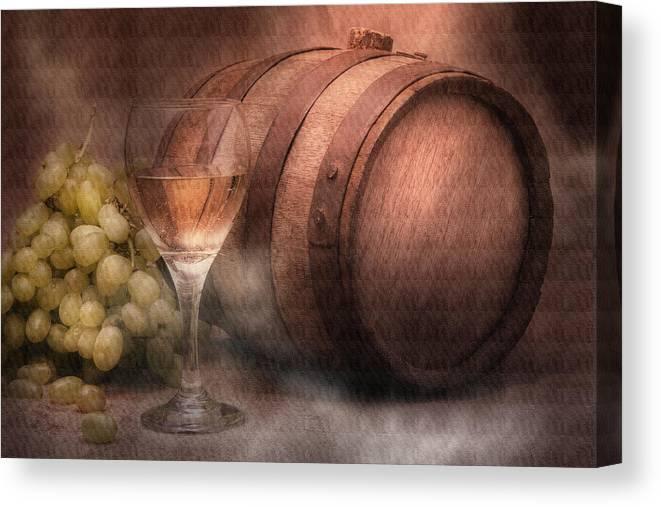 Wine Canvas Print featuring the photograph Vintage Wine by Tom Mc Nemar