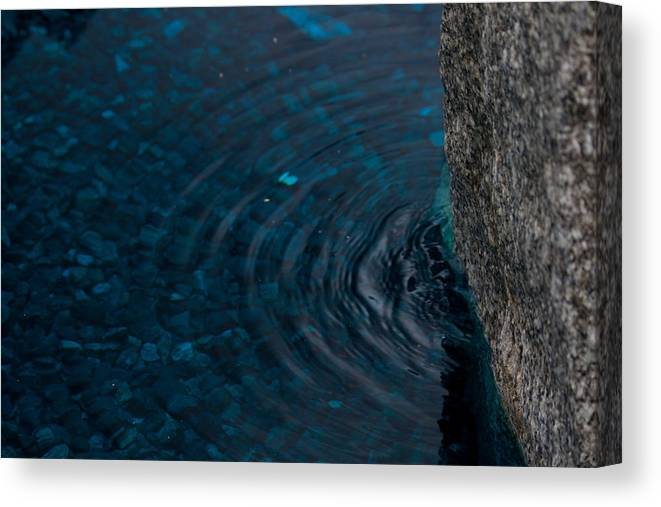Water Canvas Print featuring the photograph Water by Marta Grabska