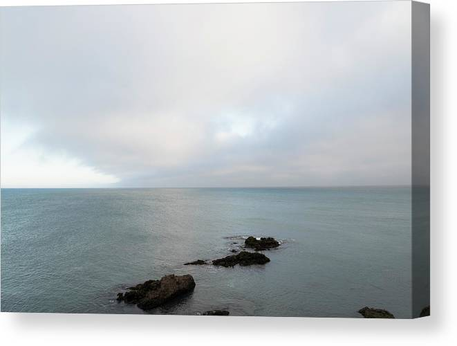 Sea Canvas Print featuring the photograph We Found The Sea Of Green by Alex Lapidus
