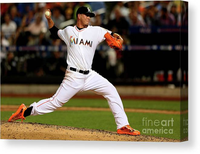 People Canvas Print featuring the photograph 84th Mlb All-star Game 1 by Mike Ehrmann